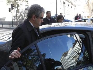 Francesc Homs, el exconseller de Presidencia de Cataluña a su salida del Tribunal Supremo