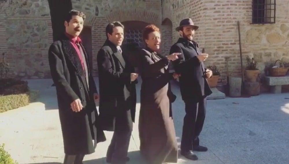 """""""El método Stanislavsk"""" por los actores de Puente Viejo"""