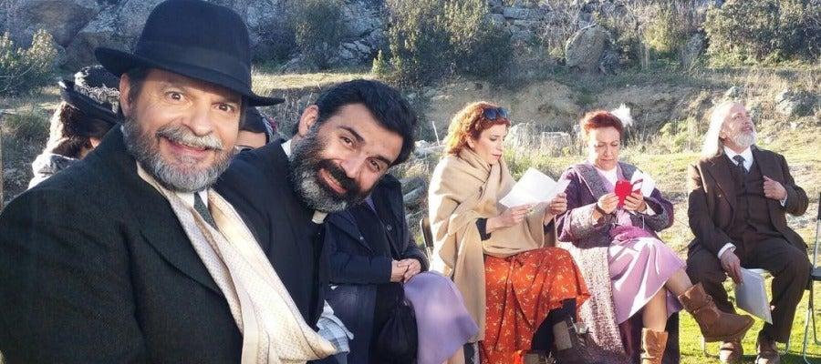 Antena 3 tv as viven los actores de puente viejo los rodajes en exteriores - Exteriores puente viejo ...