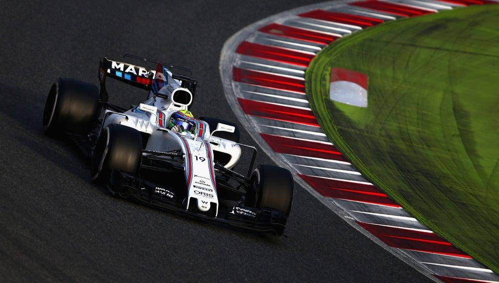 Felipe Massa, en el trazado de Montmeló