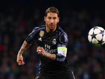 Sergio Ramos, jugador del Real Madrid