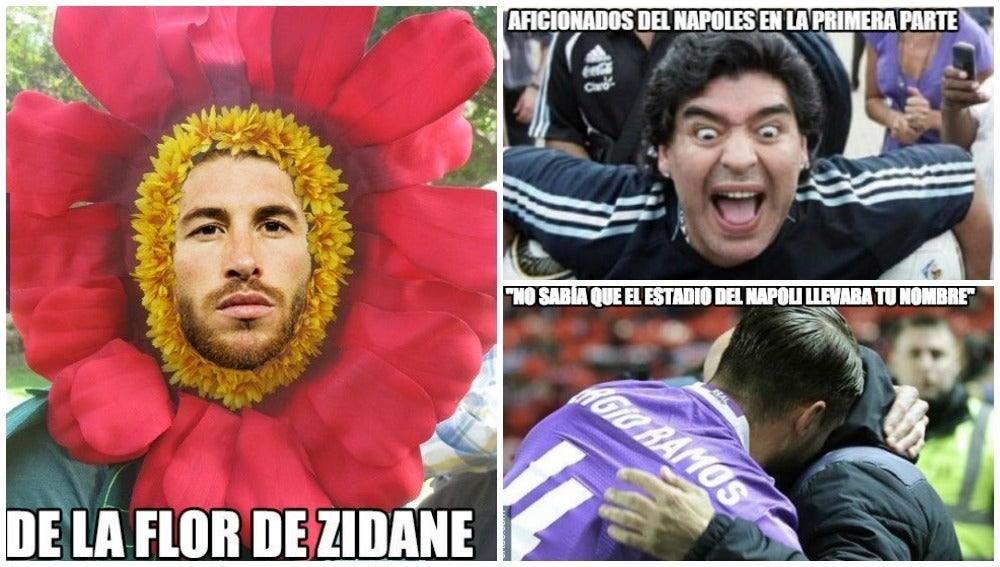 Memes del Nápoles-Real Madrid