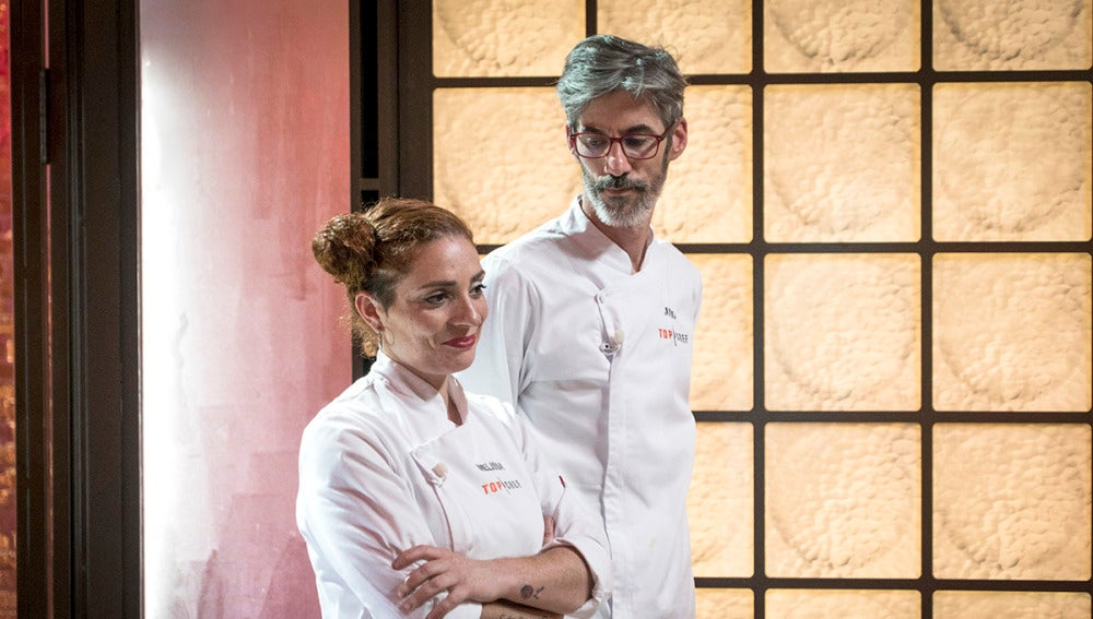 Melissa o Julio, solo uno de ellos tiene hueco en las cocinas de 'Top chef'