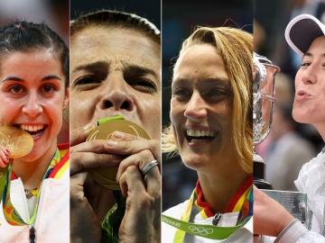 Las mujeres, cada vez más protagonistas en el deporte