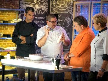 """Dani García, el invitado que ha dejado """"helados"""" a los concursantes de 'Top Chef'"""