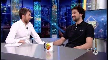 """Frame 101.505555 de: Sergio Llull: """"Lo de la NBA está un poco apartado, me queda cuerda para rato en España"""""""