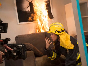 Patricia Montero nos enseña cómo sobrevivir a un incendio