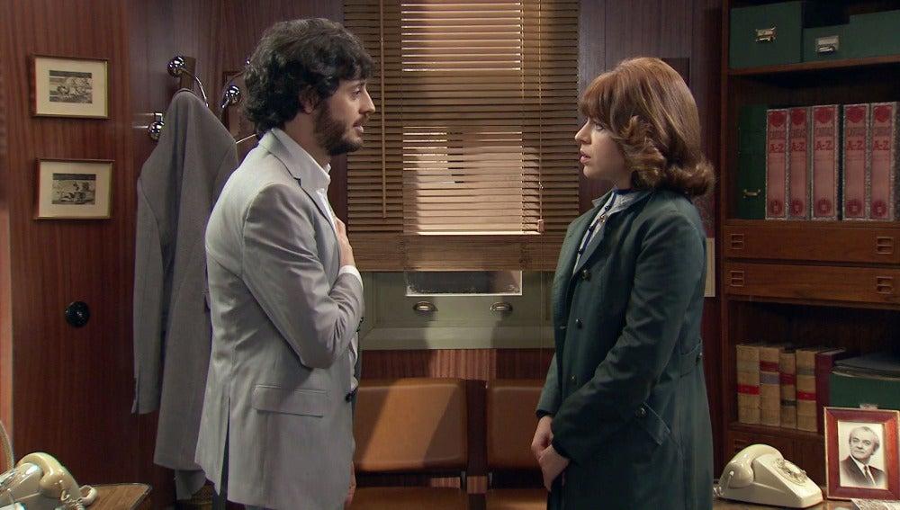 """Nuria rechaza a Jaime: """"Ese beso ha sido un error"""""""