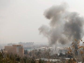 Zona atacada por Daesh en Afganistán