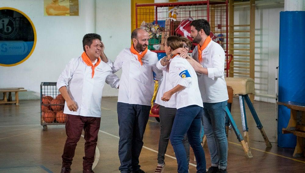 El equipo naranja gana una de las pruebas grupales más difíciles de 'Top Chef'