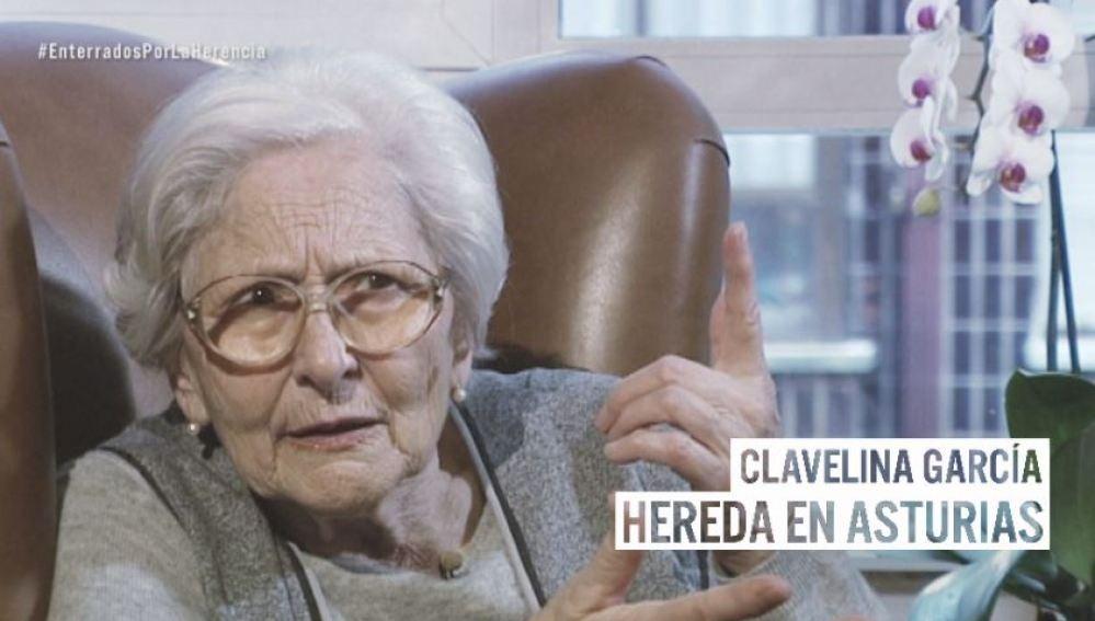 Clavelina, la anciana asturiana que pide eliminar el impuesto de sucesiones