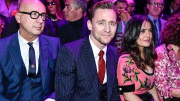 Tom Hiddleston en la Semana de la Moda en Milán