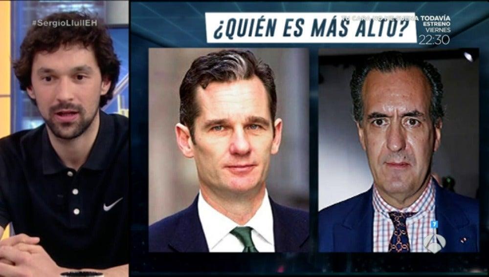Frame 15.87 de: Quién es más alto, Urdangarín o Marichalar