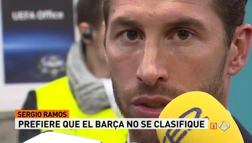 """Frame 4.397869 de: Sergio Ramos: """"Dormiré más tranquilo si eliminan al Barcelona"""""""