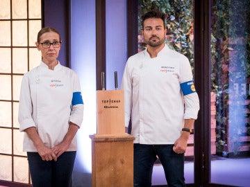 Montoro y Mª Rosa se hacen con la preciada inmunidad de 'Top Chef'