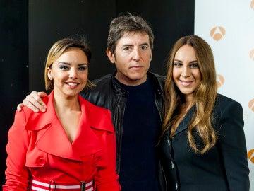 Chenoa, Manel Fuentes y Mónica Naranjo en 'Tu cara no me suena todavía'