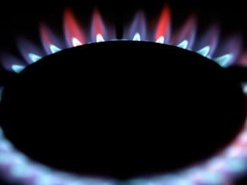 Fogón de una cocina de gas