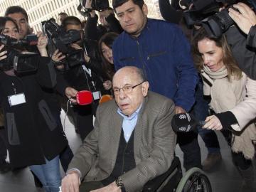 Fèlix Millet, a su llegada al juicio del caso Palau