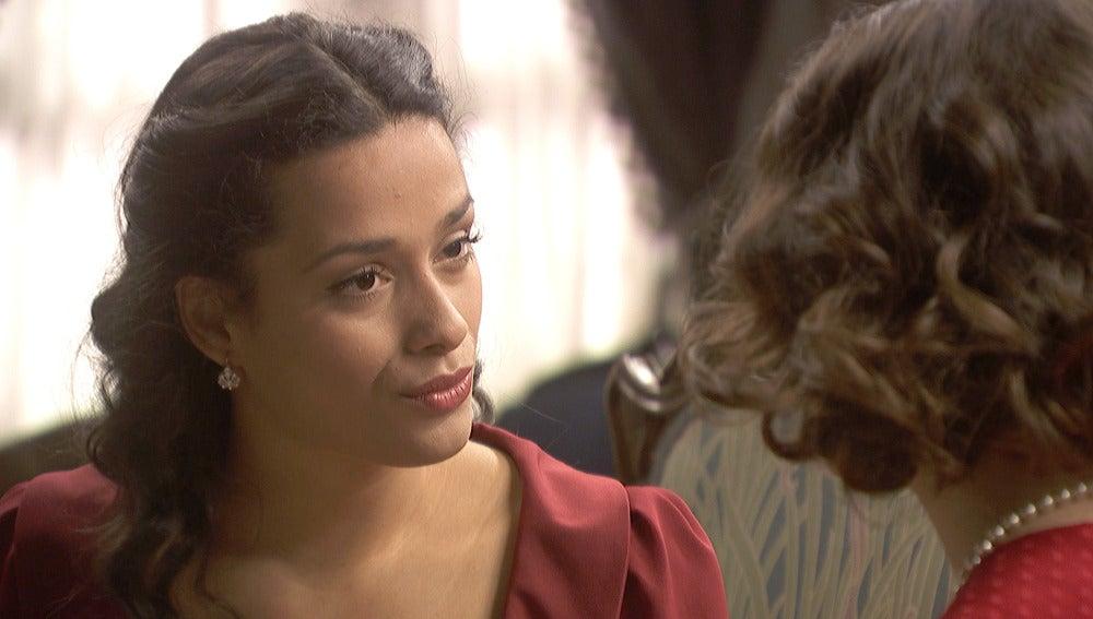 Lucía confiesa sus sentimientos secretos hacia Néstor