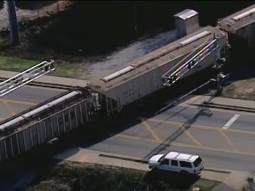 Tren que arrolló al joven de 17 años