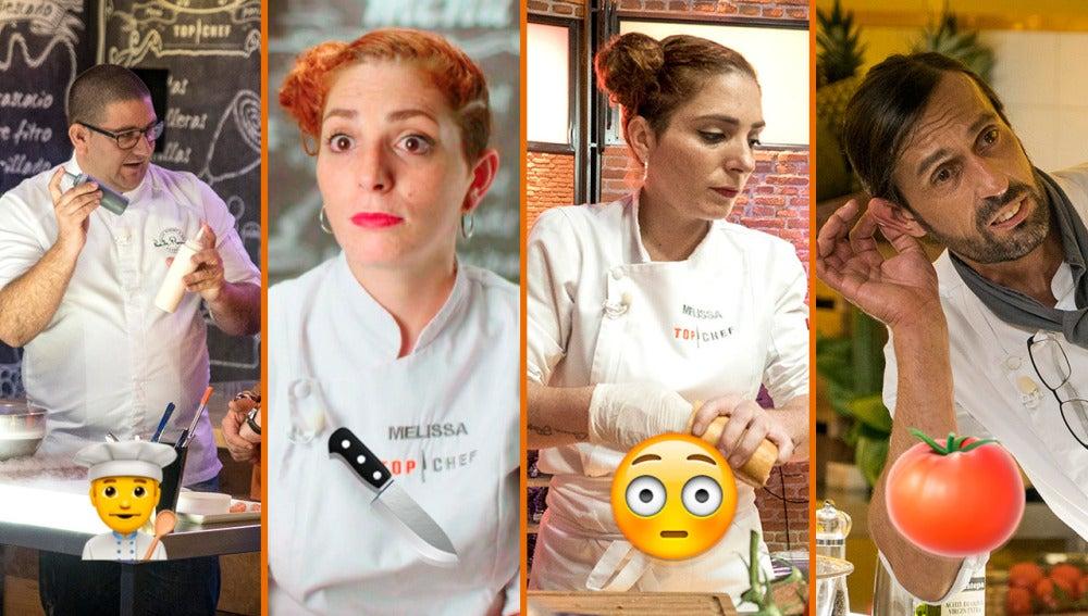 Orgasmos gastronómicos, broncas monumentales y jefes de cocina enanos, los momentazos de 'Top Chef'
