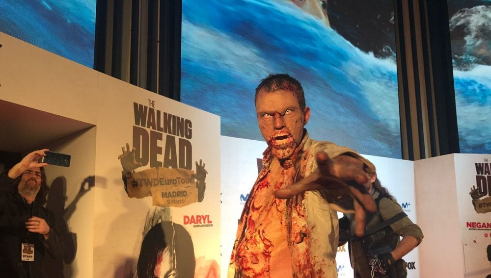 'The Walking Dead' en la Gran Vía
