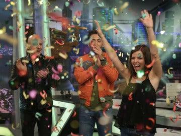 Manolo Sarria trae la fortuna para una persona del público de 'El Hormiguero 3.0'