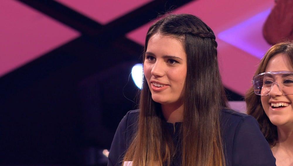 Amalia, la concursante-presentadora