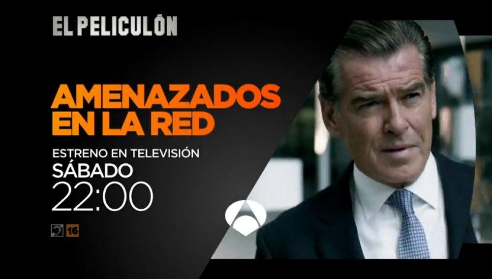 Frame 8.912522 de: Pierce Brosnan protagoniza 'Amenazados en la red', estreno en El Peliculón