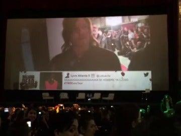 Frame 6.028492 de: Lucille enloquece a los fans en el Cine Capitol de Madrid