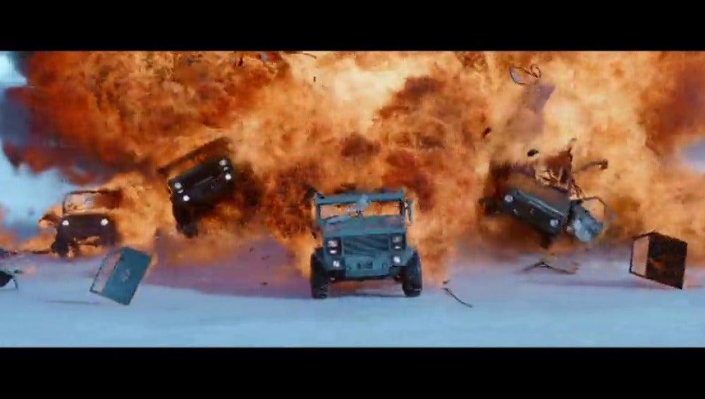 """Frame 19.059273 de: Vuelve """"Fast an Furious"""" con una octava entrega y velocidad sobre ruedas"""