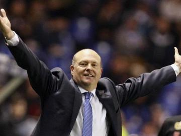 El entrenador del Deportivo, Pepe Mel.