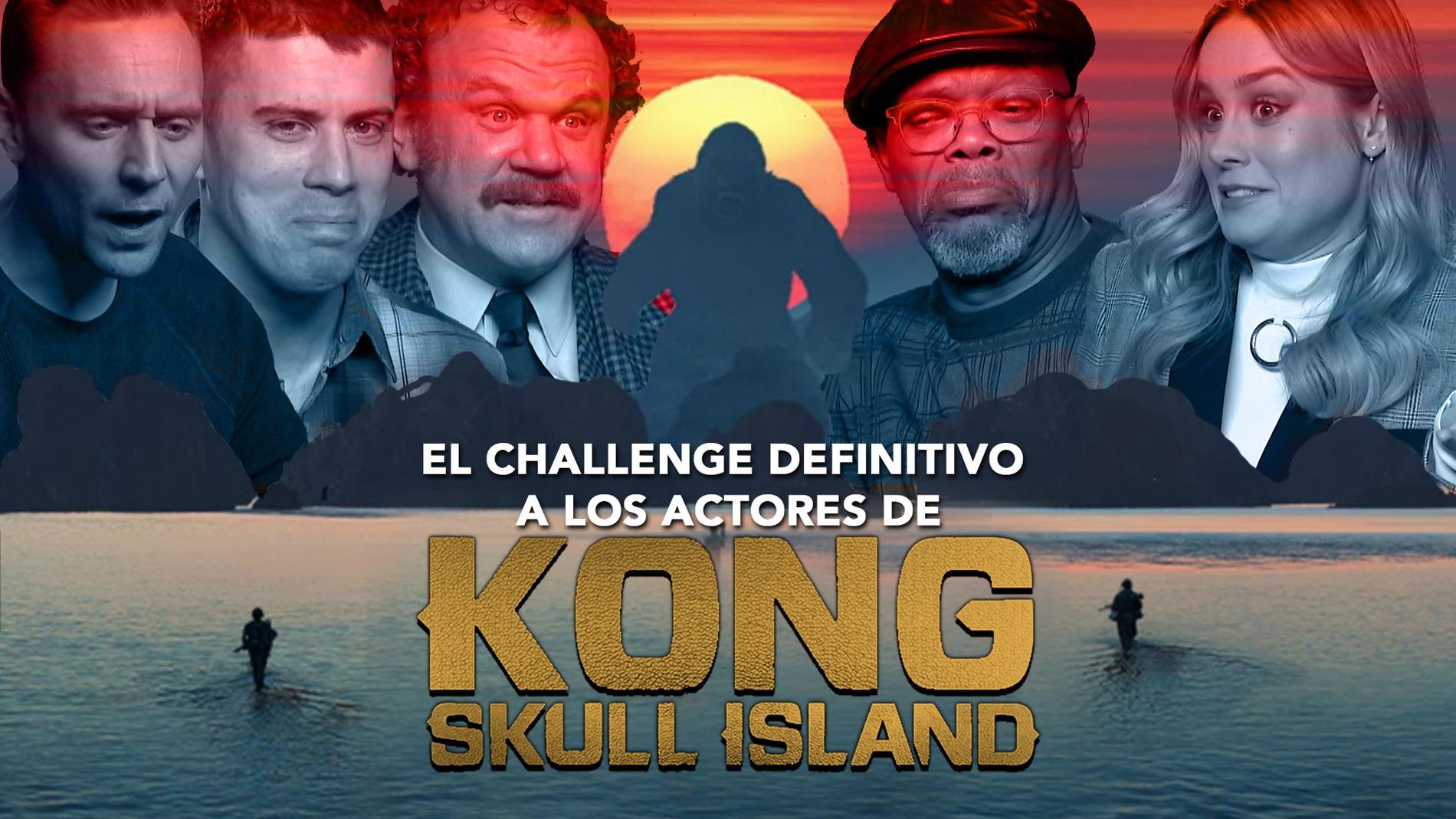 Challenge con el equipo de 'Kong: La Isla Calavera'