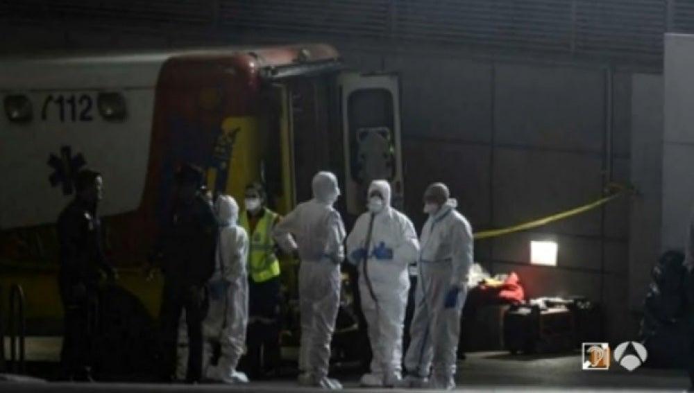 Agentes químicos en el Santiago Bernabéu