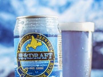 Sí, una cerveza azul