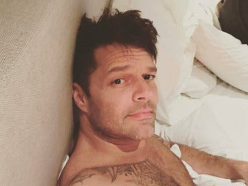Ricky Martin posa en Instagram