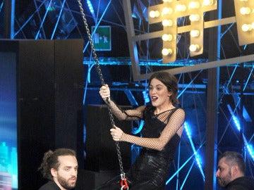 Martina Stoessel a lo Miley Cyrus
