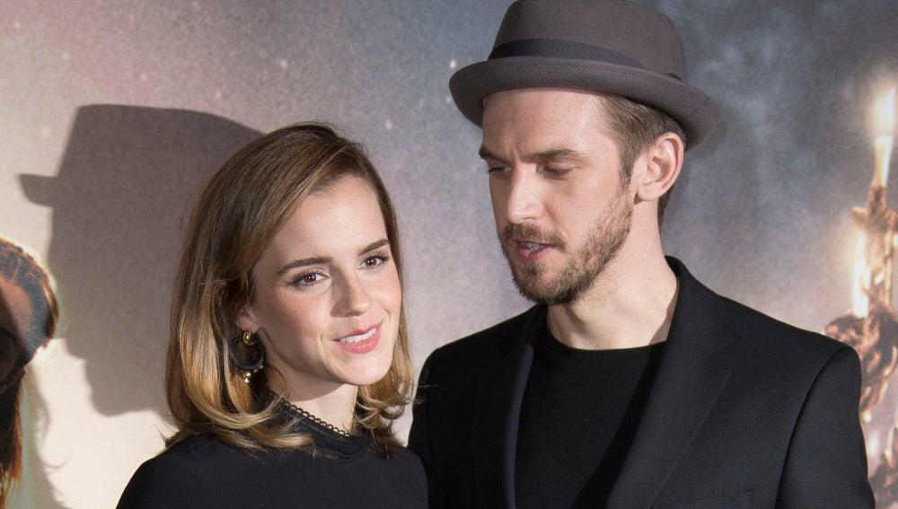 Emma Watson y Dan Stevens