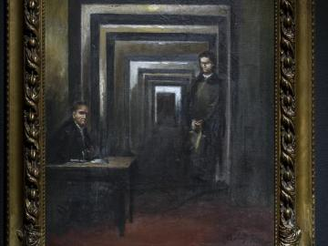 Cuadro pintado por el dictador Adolf Hitler