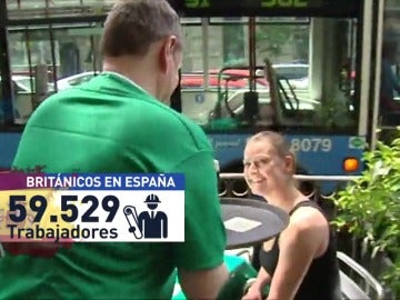 Frame 61.610666 de: Se disparan las solicitudes de la nacionalidad española de ciudadanos de Reino Unido