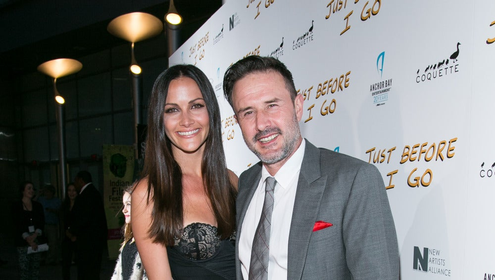 David Arquette y Christina McLarty
