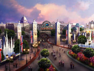 Nuevo parque de atracciones de Paramount