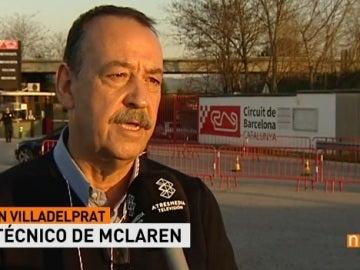 Joan Villadelprat, experto en F1 y extécnico de McLaren