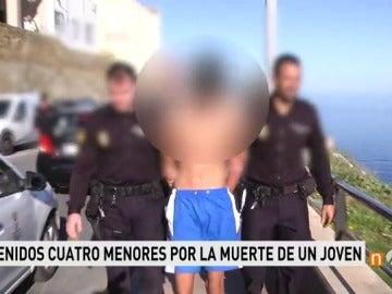 Frame 11.820666 de: Detienen a cuatro menores extranjeros tutelados sospechosos del asesinato por arma blanca de un joven de 20 años