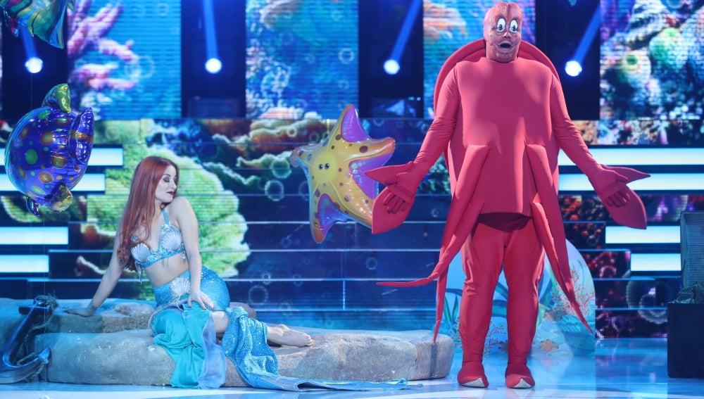 El cangrejo Sebastián, de 'La Sirenita', nos sumerge 'Bajo el mar' de la mano de Jesús Durán