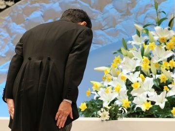 Homenaje sexto aniversario del terremoto de japón