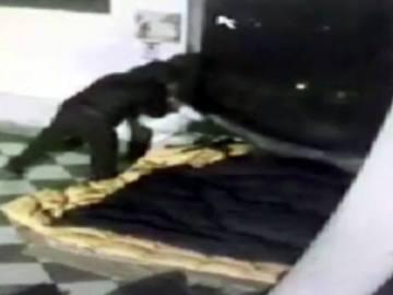 Asesinato de un mendigo en Italia