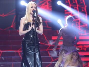 La viva voz de Mónica Naranjo resuena en el plató de 'Tu cara no me suena todavía' con 'Pantera en libertad' gracias a Patricia Aguilar