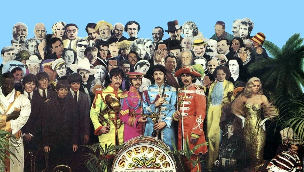 Portada Sgt Pepper's de los Beatles