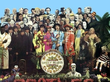 Portada Sgt Pepper's de los Beatles